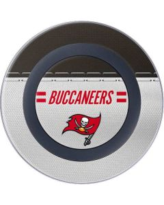 Tampa Bay Buccaneers White Striped Wireless Charger Skin