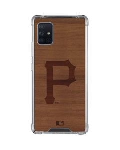 Pittsburgh Pirates Engraved Galaxy A51 5G Clear Case