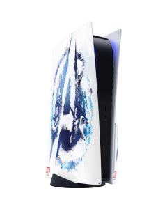 Avengers Blue Logo PS5 Console Skin