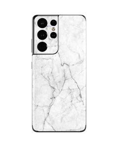 White Marble Galaxy S21 Ultra 5G Skin