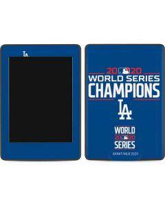 2020 World Series Champions LA Dodgers Amazon Kindle Skin