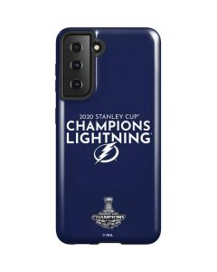 2020 Stanley Cup Champions Lightning Galaxy S21 5G Case