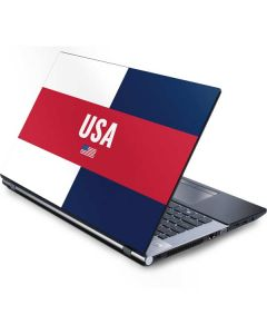 USA Flag Color Block Generic Laptop Skin