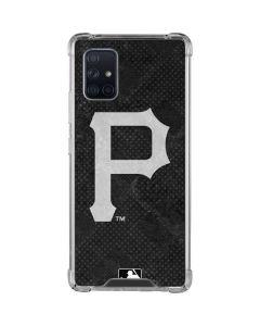Pittsburgh Pirates Dark Wash Galaxy A71 5G Clear Case