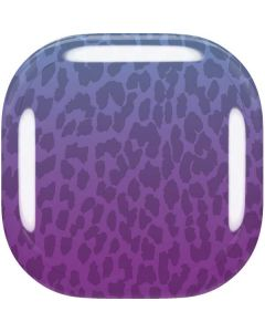 Cheetah Print Purple and Blue Galaxy Buds Live Skin