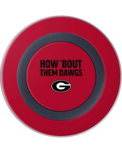 How Bout Them Dawgs Wireless Charger Skin