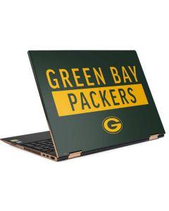 Green Bay Packers Green Performance Series HP Spectre Skin