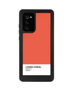 Living Coral Galaxy Note20 5G Waterproof Case