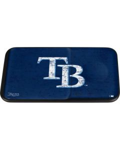 Tampa Bay Rays - Solid Distressed Wireless Charger Duo Skin