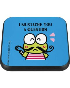 Keroppi I Mustache You A Question Wireless Charger Single Skin