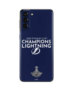 2020 Stanley Cup Champions Lightning Galaxy S21 Plus 5G Skin