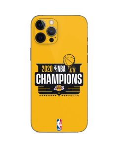 2020 NBA Champions Lakers iPhone 12 Pro Max Skin