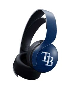 Tampa Bay Rays - Solid Distressed PULSE 3D Wireless Headset for PS5 Skin
