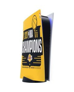 2020 NBA Champions Lakers PS5 Digital Edition Console Skin