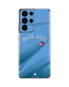 Toronto Blue Jays Retro Jersey Galaxy S21 Ultra 5G Skin