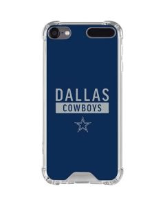 Dallas Cowboys Blue Performance Series iPod Touch (5th-6th-7th Gen) Clear Case