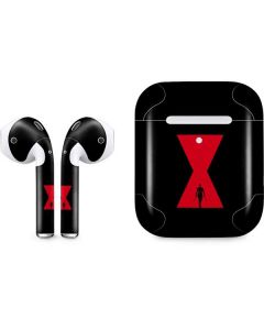 Black Widow Animated Apple AirPods 2 Skin