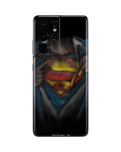 Superman Chalk Galaxy S21 Ultra 5G Skin