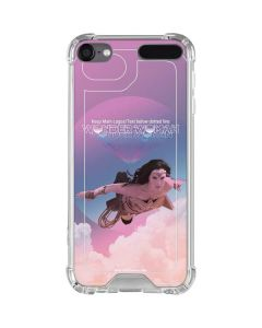 Wonder Woman Flying iPod Touch (5th-6th-7th Gen) Clear Case