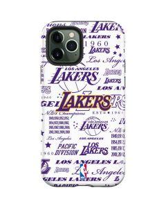 LA Lakers Historic Blast iPhone 12 Pro Max Case