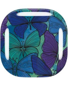California Watercolor Butterflies Galaxy Buds Live Skin
