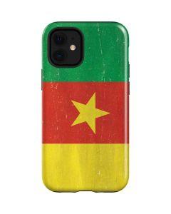 Cameroon Flag Distressed iPhone 12 Mini Case