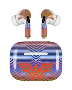 Wonder Woman Rainbow Chevron Apple AirPods Pro Skin