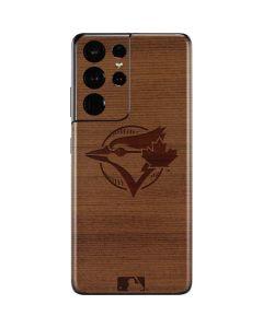 Toronto Blue Jays Engraved Galaxy S21 Ultra 5G Skin