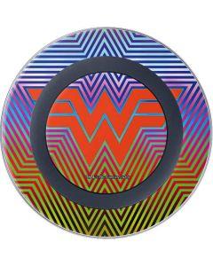 Wonder Woman Rainbow Chevron Wireless Charger Skin