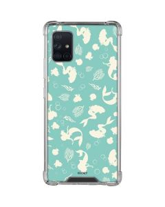 Ariel Under the Sea Print Galaxy A51 5G Clear Case
