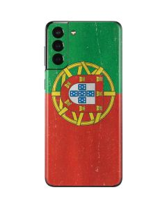 Portugal Flag Distressed Galaxy S21 Plus 5G Skin