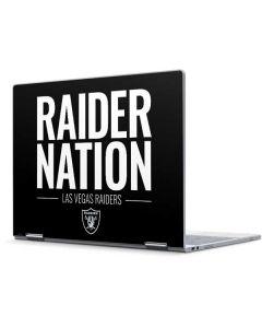 Las Vegas Raiders Team Motto Pixelbook Skin