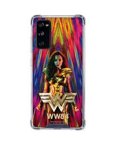 Wonder Woman Color Blast Galaxy S20 FE Clear Case