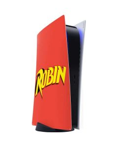 Robin Official Logo PS5 Digital Edition Console Skin