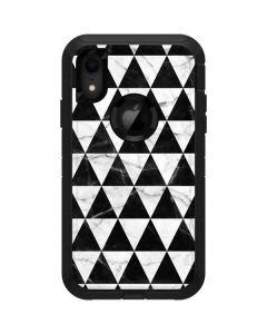Geometric Marble Otterbox Defender iPhone Skin