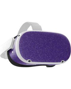 Diamond Purple Glitter Oculus Quest 2 Skin