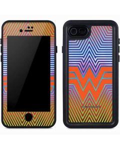 Wonder Woman Rainbow Chevron iPhone 8 Waterproof Case
