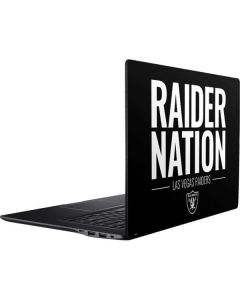 Las Vegas Raiders Team Motto Ativ Book 9 (15.6in 2014) Skin