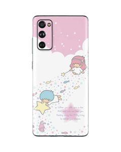 Little Twin Stars Wish Upon A Star Galaxy S20 Fan Edition Skin