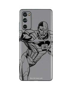 Cyborg Comic Pop Galaxy S20 Fan Edition Skin