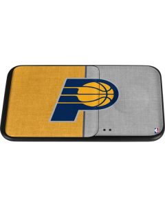 Indiana Pacers Canvas Wireless Charger Duo Skin