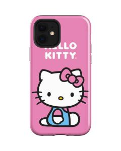 Hello Kitty Sitting Pink iPhone 12 Case