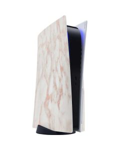 Rose Gold Marble PS5 Console Skin