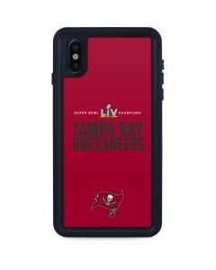 Super Bowl LV Champions Tampa Bay Buccaneers iPhone XS Max Waterproof Case