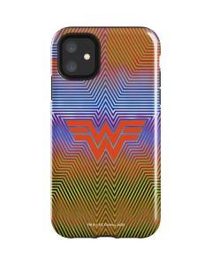 Wonder Woman Rainbow Chevron iPhone 11 Impact Case
