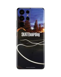 TransWorld SKATEboarding Skate Park Lights Galaxy S21 Ultra 5G Skin