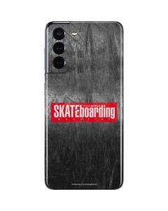 TransWorld SKATEboarding Magazine Chalkboard Galaxy S21 5G Skin