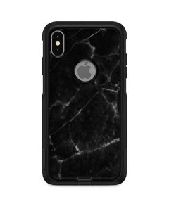 Black Marble Otterbox Commuter iPhone Skin