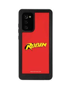 Robin Official Logo Galaxy Note20 5G Waterproof Case