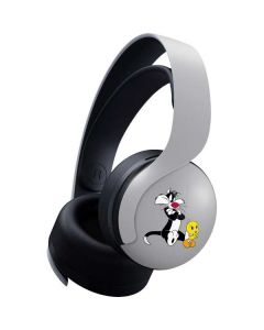 Sylvester Tweety Bird Crossed Arms PULSE 3D Wireless Headset for PS5 Skin